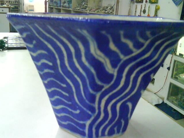 BluePotteryPlanter